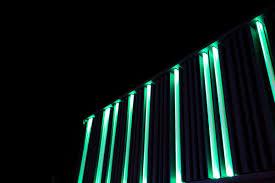 green neon lights azeem azeez