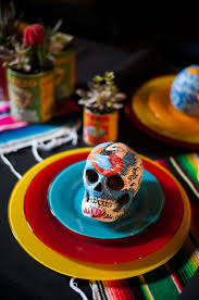 halloween party table ideas 40 best day of the dead halloween party ideas images on pinterest