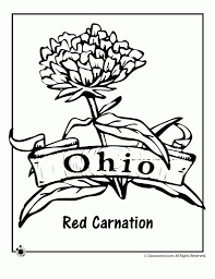 ohio state logo coloring pages