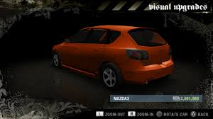 renault clio v6 nfs carbon mazda mazda3 bk need for speed wiki fandom powered by wikia