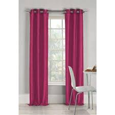Fuchsia Pink Curtains Pink Curtains U0026 Drapes Window Treatments The Home Depot