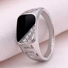 aliexpress buy mens rings black precious stones real 10978 best rings images on for women fingers and