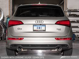 audi q5 performance parts awe tuning audi q5 3 0t exhaust suite awe tuning