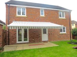 Large Awning Large Patio Awning Installed In Andover Awningsouth