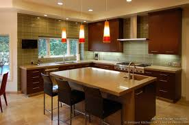 colorful kitchen backsplashes kitchen backsplash cherry cabinets
