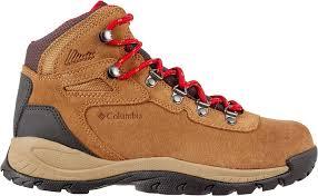 womens hiking boots columbia s newton ridge plus amped waterproof hiking boots