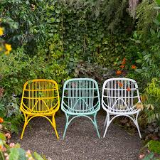 Outdoor All Weather Wicker Furniture by Open Weave All Weather Wicker Side Chair Open Weave Side Chair