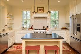 charleston mark hampton llc kitchen farmhouse with black pendant