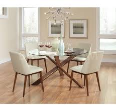 cheap modern dining room sets 723 65 barett mid century modern 5 pc dining set dining room
