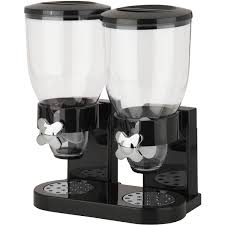 zevro original indispensable dual 17 5 oz dispenser black chrome