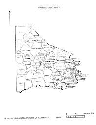 Map Of Counties In Pennsylvania by Pa State Archives Mg 11 1861 Washington County Map