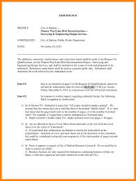 9 contract addendum template letterhead format