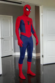 spiderman mask halloween how to make a spider man costume step by step
