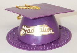 purple graduation cap purple graduation cap cake topper home kitchen