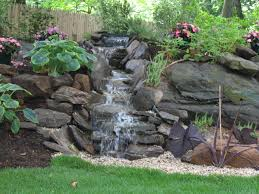 Backyard Pondless Waterfalls by Landscape Designs Emil Yedowitz Landscaping And Irrigation Solutions