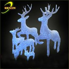 Outdoor Christmas Decorations Animals by Led Outdoor White Horse Animals Motif Light Buy Christmas Horse