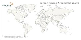 What Is A Bubble Map All The World U0027s Carbon Pricing Systems In One Animated Map