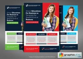 tri fold school brochure template school education flyer template a free v with school free