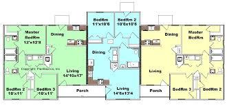 triplex floor plans u2013 meze blog
