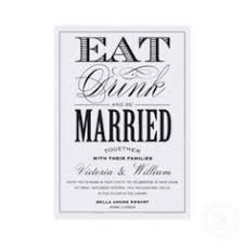 eat drink and be married invitations eat drink and be married by serenity avenue things i
