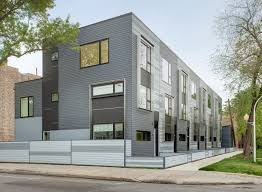 narrow row house flexhouse eco friendly row homes in chicago chicago