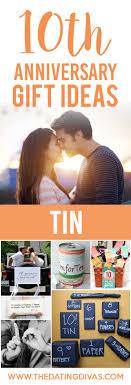 10 year anniversary gift ideas ideas for wedding anniversary gifts by year the dating divas
