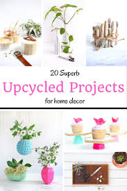 20 upcycled home decor projects recycling 20 and tvs