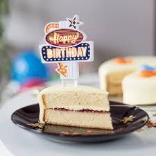 Hockey Cake Decorations Happy Birthday Retro Flashing Sign Cake Topper The Green Head