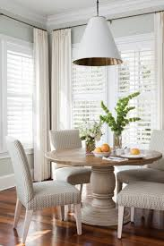 Dining Room Blinds Dining Room Decorating Pendant Lighting With Round Dining Table Also
