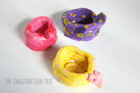 clay snake coil pots the imagination tree