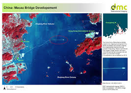 Zhuhai China Map by The Hong Kong Zhihai Macau Bridge Project Dmcii