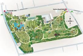 Royal Botanical Gardens Melbourne Map Maps Us Botanic Gardens Rbgv Melbourne Brochure Map Large