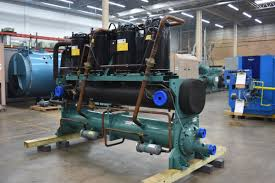 110 ton water cooled chiller surplus group