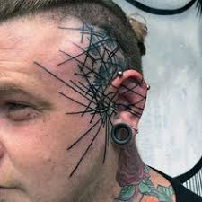 13 cool face tattoos for men
