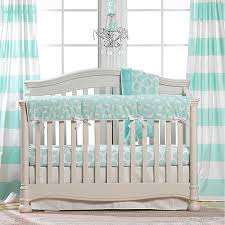 Teal Crib Bedding Mint Woodland Crib Bedding The Giggle Guide Product Service