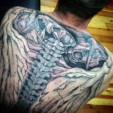 Tattoos For Guys On - 75 spine tattoos for masculine ink design ideas