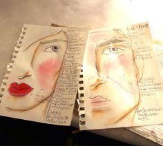 makeup artist sketchbook walker sarahwalkerxo on