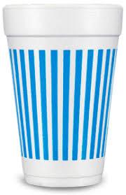 styrofoam cups pre printed styrofoam cups stripes blue limelight paper