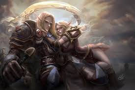 world of love wallpapers wallpapers world of warcraft armour elf man lovers caelanon sanomi