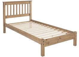 Single Bed Frame Abdabs Furniture Rustic Pine Single Bed Frame