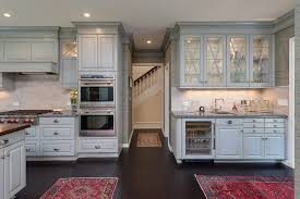 custom kitchen cabinets with glass doors kitchen and bar with glass doors on custom cabinets