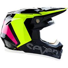 motocross helmet new bell 2017 mx seven moto 9 flex rogue flo yellow pink black