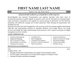 Logistics Supervisor Resume Samples by Logistics Supervisor Job Description Logistics Administrator