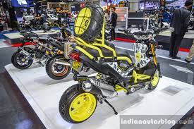 bentley zoomer honda zoomer x by x paint rear quarter at 2016 bims indian autos