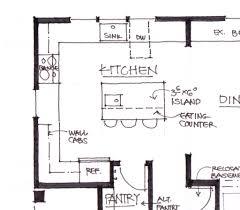 kitchen island height cm in standard kitchen island height design