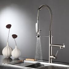 pull kitchen faucet brushed nickel nickle brushed pull out spray kitchen faucet mixer tap pull