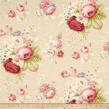 waverly sanctuary rose linen discount designer fabric fabric com