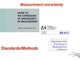 estimating measurement uncertainty applications of statistics in
