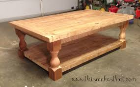 Coffee Tables On Sale by Pottery Barn Inspired Coffee Table This Makes That Tables On Sale