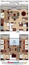 leisure village floor plans theming and accommodations at disney u0027s kidani village
